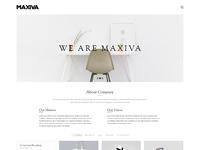 01 06 maxiva boxed minimal portfolio home
