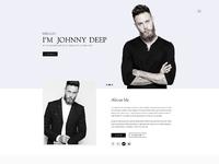 01 04 johnny personal minimal portfolio home