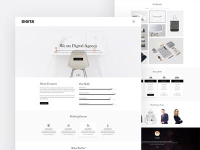 Maxive Minimal Portfolio WordPress Theme