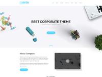 Digita corporate business template concept