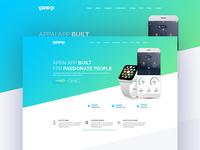 Appai App Landing Page Concept