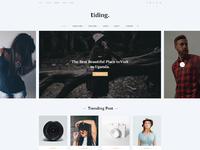 Tiding blog ui concept 01