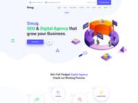 Smug seo and digital agency web ui