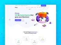 SEO and Digital Agency Landing Page Explanation