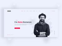 Personal Portfolio Website Concept