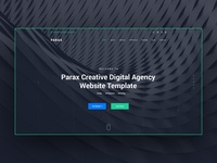 Digital Agency Website Design Explanation