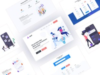 Landing Page Explanation for Mobile App Company