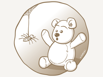 Spider party invitation