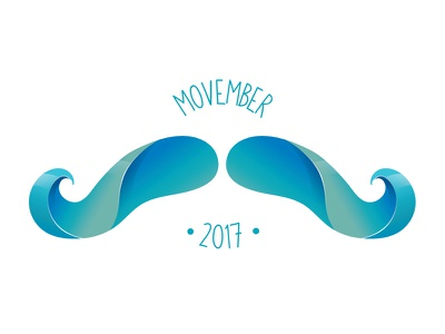 #onestacheaday 30 vector digital art stach moustache movember