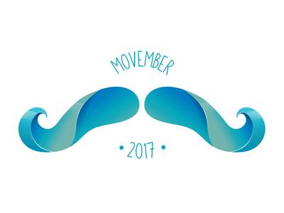 #onestacheaday 30 vector digital art stach moustache movember