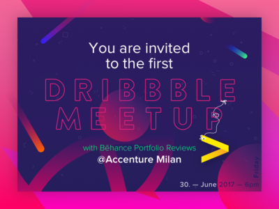 Dribbble Meetup @Accenture Milan