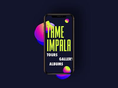 Tame Impala tameimpala gradient color music