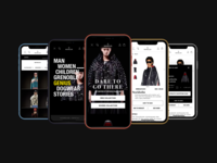 Moncler Experience - Responsive Concept