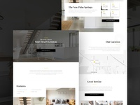 Luxury House Landing Page