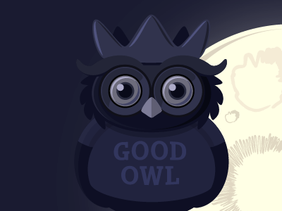 Good Owl - in the making