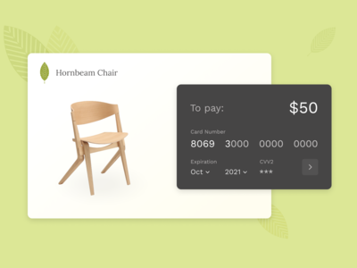 Daily UI #2 Credit Card Checkout