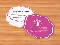 Flower Shaped Business Card