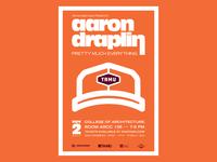Aaron Draplin — AIGA TAMU Poster