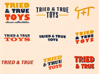 Tried & True Toys — Unused Concepts