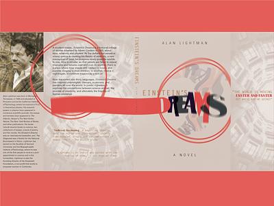 Einstein's Dreams Book Cover manipulation photo deconstructed type deconstructed type dream einsteins dreams book cover book