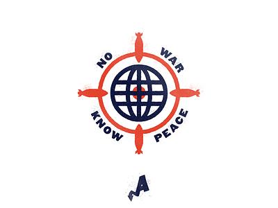 No War, Know Peace texture alleviate politics political earth world globe bomb nuke target peace war
