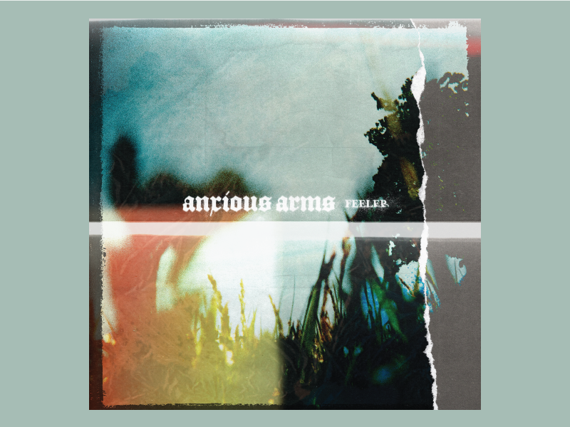 Anxious Arms —Feeler Artwork band art band merch photocopy collage photo art texture album art artwork feeler anxious arms