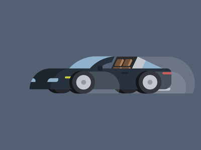 Car illustration Porsche 911 Targa