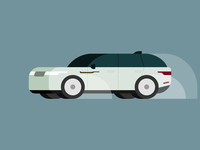 Car Illustration Land Rover Velar