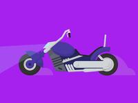 Biker Mice From Mars Modo's Bike