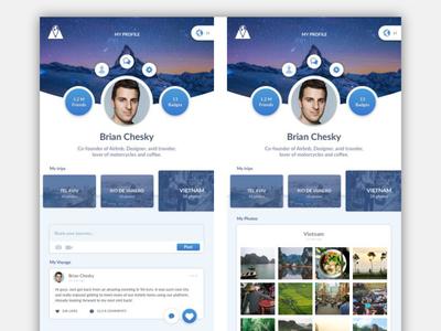 Social Travel | App Design