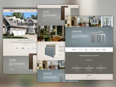 Home Exterior Company | Website Design