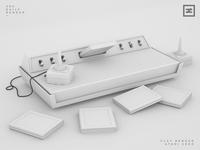 Clay Render - Atari 2600