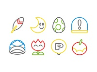 Super Mario World Icons