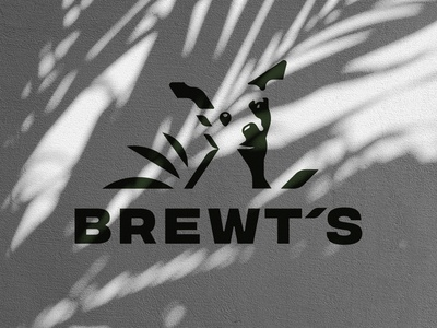 BREWT'S Logo - Hot Doggy! before and after animal logo michigan hot sauce bloody mary branding agency logo design illustration branding redesign chihuahua dog logo dog logotype logo full circle graphic design design art direction