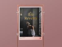 Revelry Logo Design - Poster