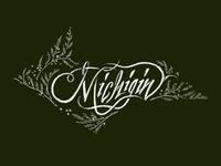 Michigin Calligraphy Mark - Outtake