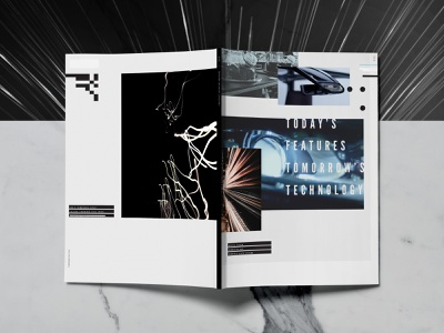 Tech Brochure Covers josh kulchar full circle cover art branding modern futurist art direction graphic design editorial design design tech magazine cover design brochure print print design