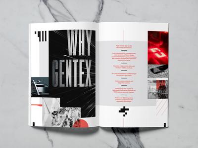 Interior Spread 1 - Tech Company Brochure