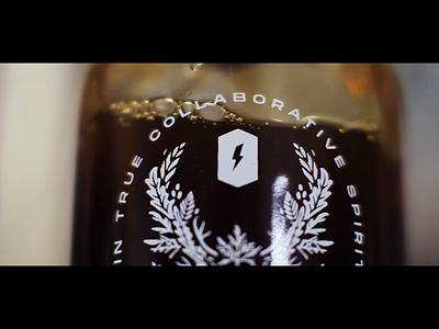 Clip from Amaro Pazzo Promo Video film packagingdesign long road distillers madcap coffee amaro craft spirits liqueur spirits packaging video advertising promo video graphic design art direction design