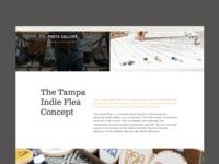 Tampa Indie Flea Website