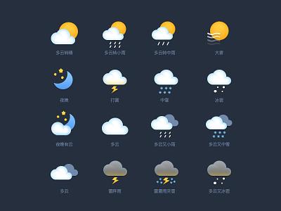 weather icon wind weather sun snow rain set icon hail icons fog direction cloud