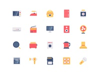 electric appliance icons