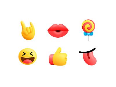 emoji red yellow expression icons icon face emoji