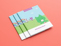 Rainbow Cubs Daily Report Books