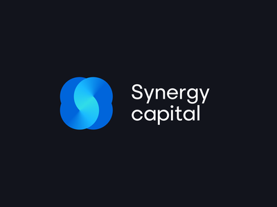 Synergy Capital monogram mark logotype typography branding logo