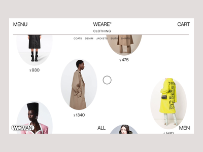 Weare: Interactions animation web ux website interaction aftereffects ui