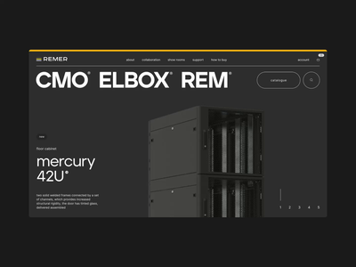 REMER showreel interaction ui website ux web aftereffects animation