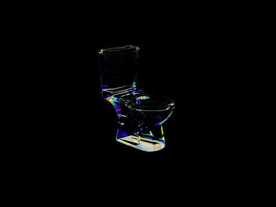 Glass & Dispersion render c4d 3d art digital art 3d experiment animation
