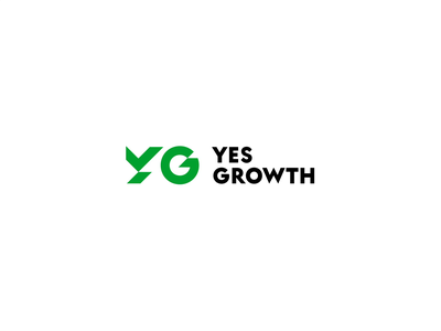 Yes Growth logo motion growth motion design brand design branding logo fund animation