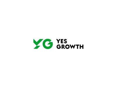 Yes Growth logo motion growth motion design brand design branding logo fund animation
